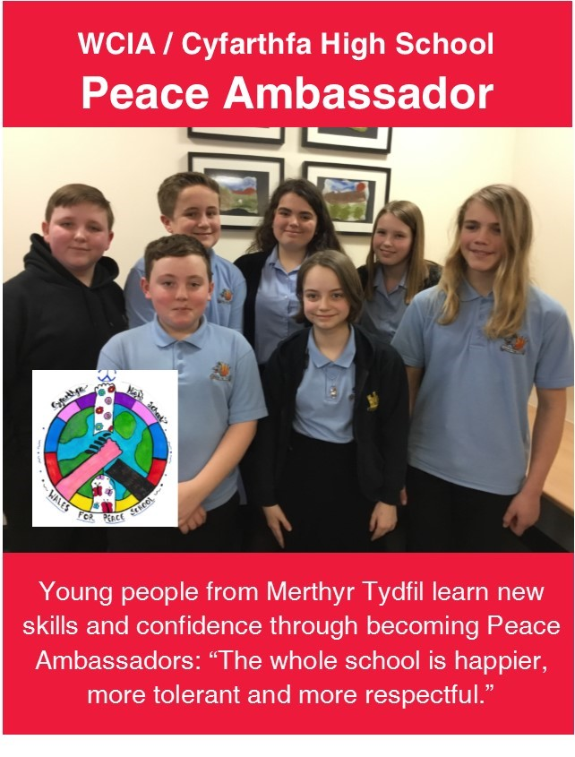 Cyfarthfa High School becomes one of Wales' first six Peace